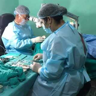 RFL Free Eye Check Up and Cataract Operation Program
